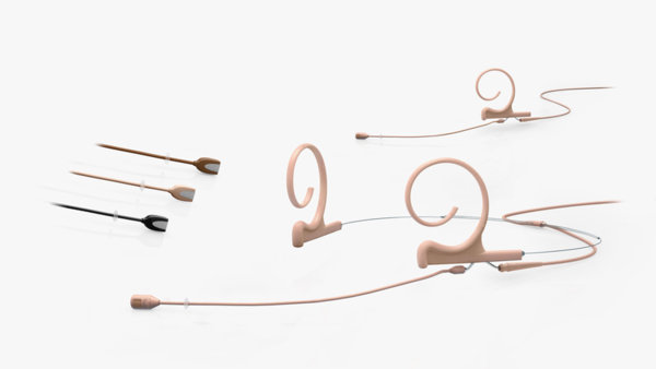 DPA d:fine™ Flex Directional Headset and Earset Microphone
